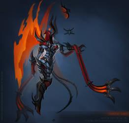 Demonic Auriel concept
