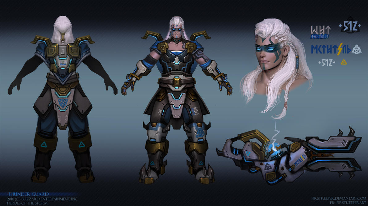 Zarya Thunder Guard by FirstKeeper