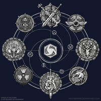 HOTS Celestial Tshirt by FirstKeeper