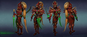 Valeera Master skin. by FirstKeeper