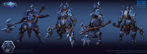 Sonya Death Knight  Skin 1 by FirstKeeper