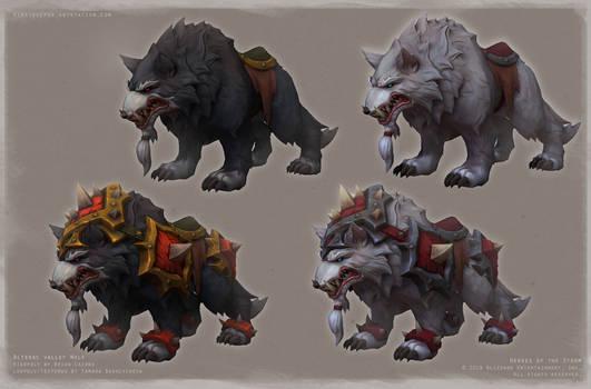 Wolves colors 01