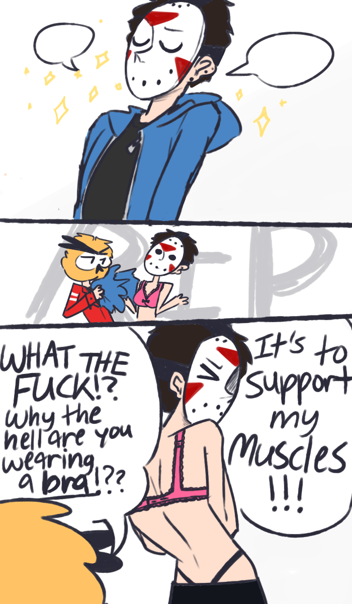 Vanoss And Delirious || Muscle Supporter || Comic By CyberSingle