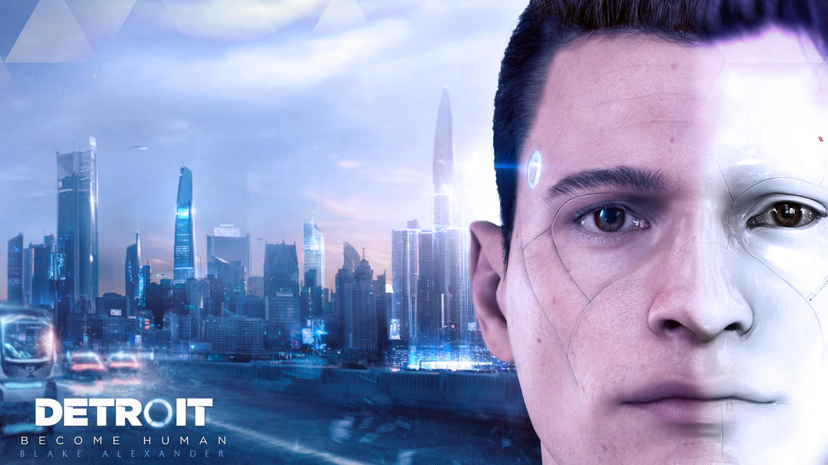 Detroit Become Human Connor Wallpaper: Connor Wallpaper By Blakealexander