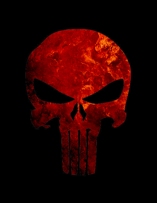 The gallery for --> The Punisher Skull Stencil