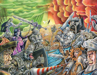 The Battle of Chessboard Hill by FatherStone