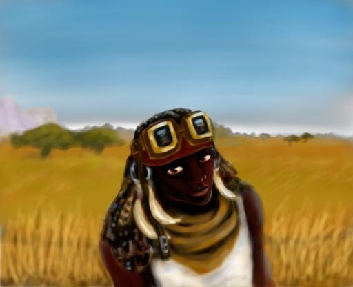 Grassland Raider by ValorRae