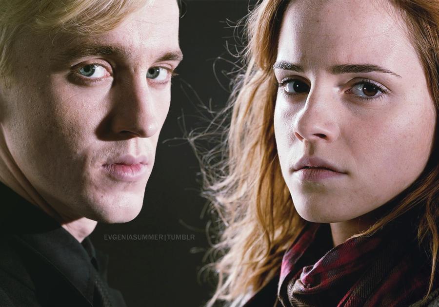 Resultado de imagen para draco y hermione