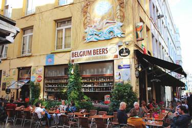 Cafe in Belgium by EvgeniaSummer