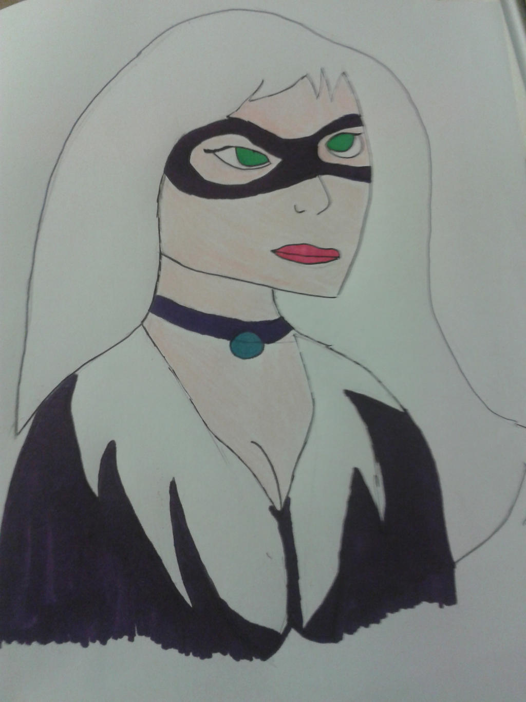 Black Cat The Spectacular Spider Man By Tomroach20 On