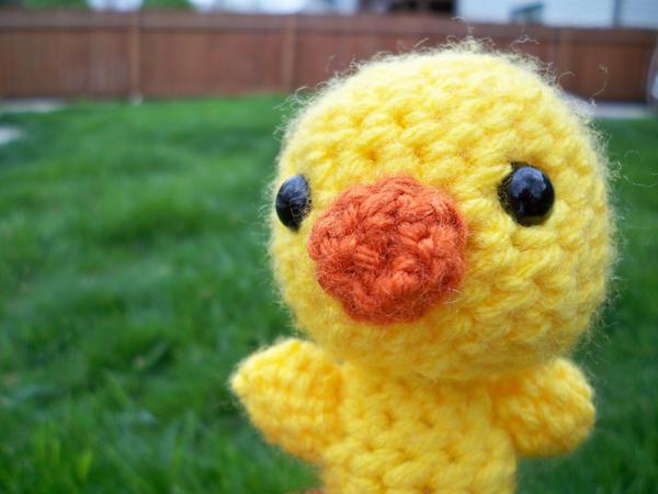 Amigurumi To Go Duck : Amigurumi Duck by pixie--stick on DeviantArt