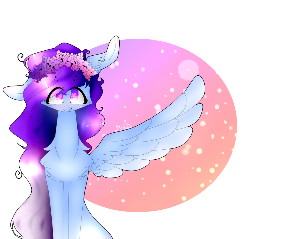 (Gift) Violet's Flower Crown by LeticiaCristina1
