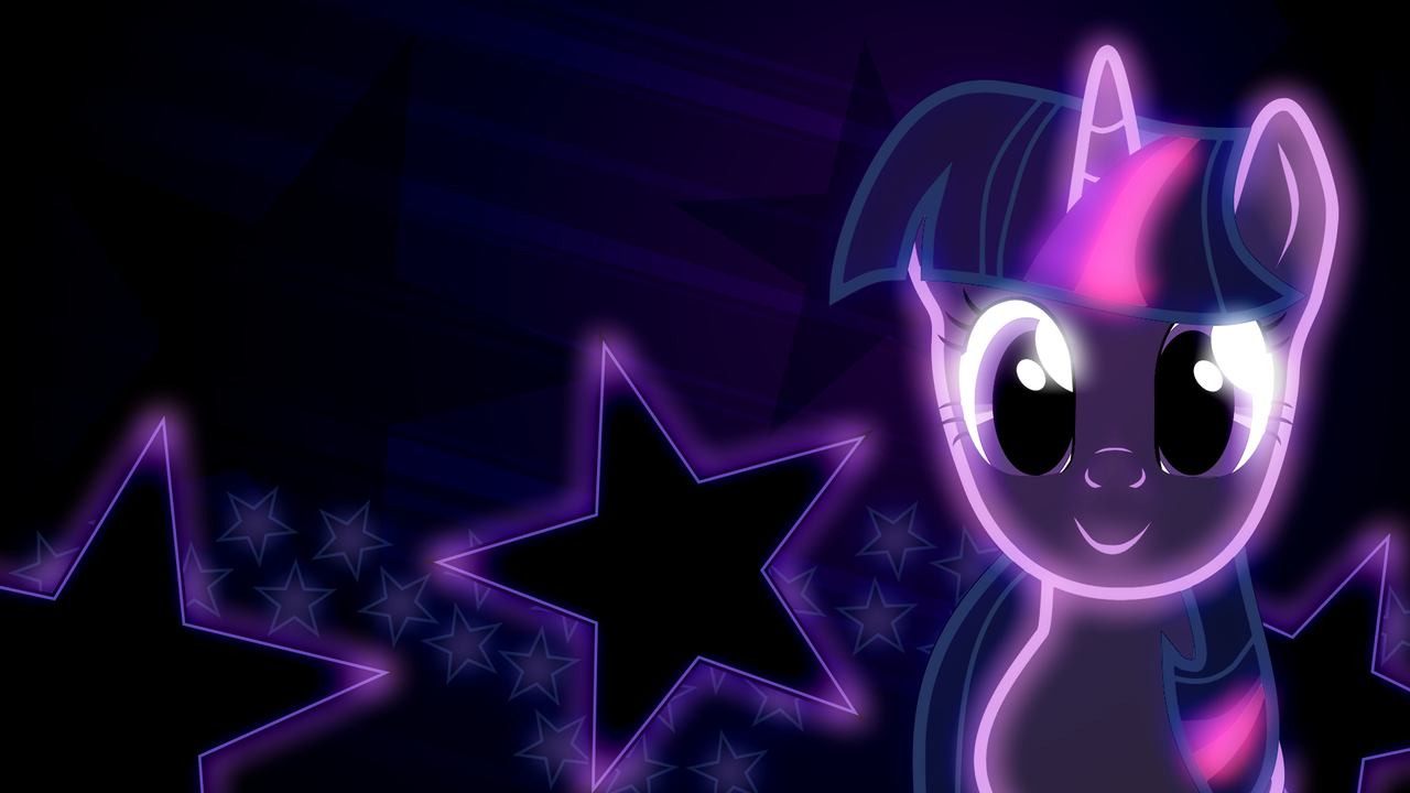 Twilight Sparkle Wallpaper by AllicornUK