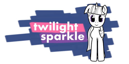 Twilight Sparkle design
