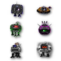 Droid Assault: Icons
