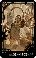 fig.1 The Magician by RogueEidolon