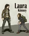 X23 meet X-23 (Laura Kinney and Laura Kinney)