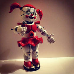 Circus Baby Figurine by Spectral-Beanie