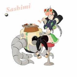 Sashimi, Sushi Queen