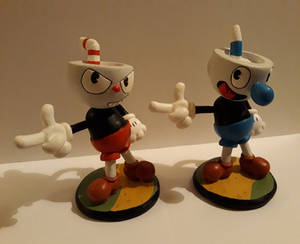 Cuphead Figurines