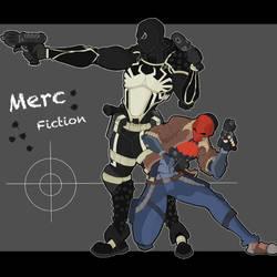 Merc Fiction Agent Venom and Redhood