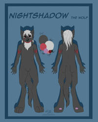 Night Shadow red sheet 2016 by NightShadowolf