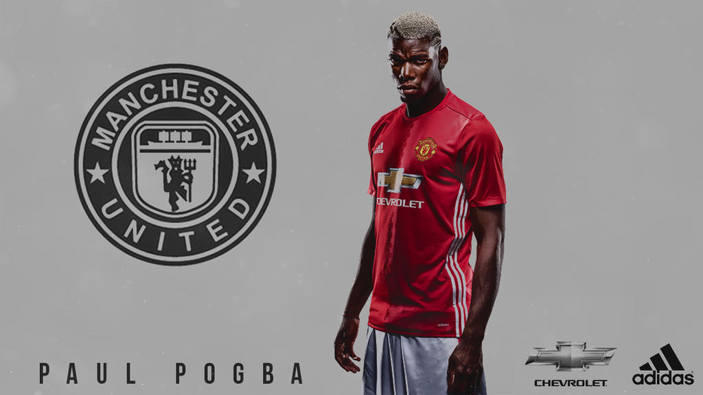 Paul Pogba Manchester United HD Wallpaper By HoussemDA On