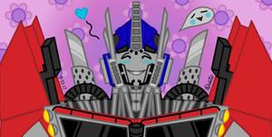 Cute Optimus by Daddyslittlegirl72