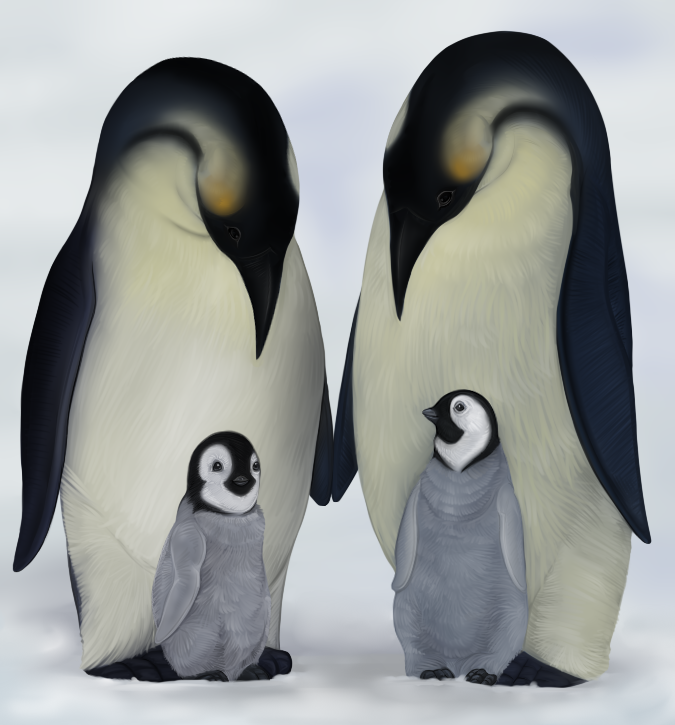 Emperor Penguin Family 405618914 further Watch also Dathomirian OCs Reference 610390950 together with Twins moreover Drawn 20baby 20mother 20vector. on loving mother drawing