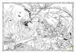 Le dragon et le trefle by MarvinBernadet