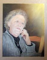 Josette            (pastel 60x80)