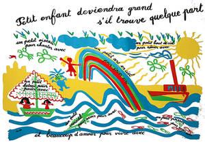 Affiche  ecole Maternelle