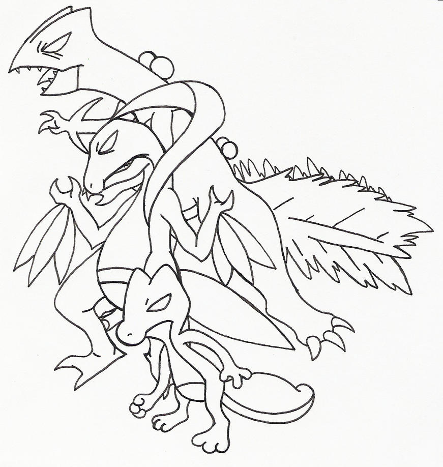 treecko coloring pages - photo#24
