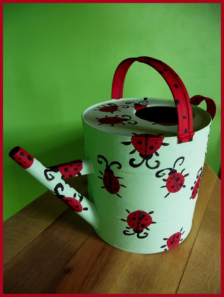 Ladybug watering can by luciramms on deviantart - Ladybug watering can ...