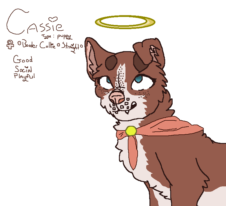 Cassie by Darkmooncat2084