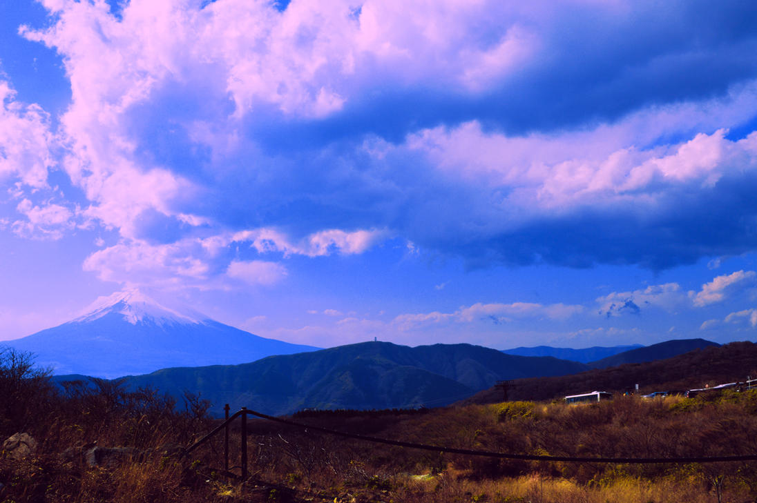 Majestic Mt. Fuji by Nature-And-Things