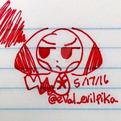 eVal chibi doodle by valgal5567