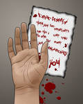 Suicidal note by jussta