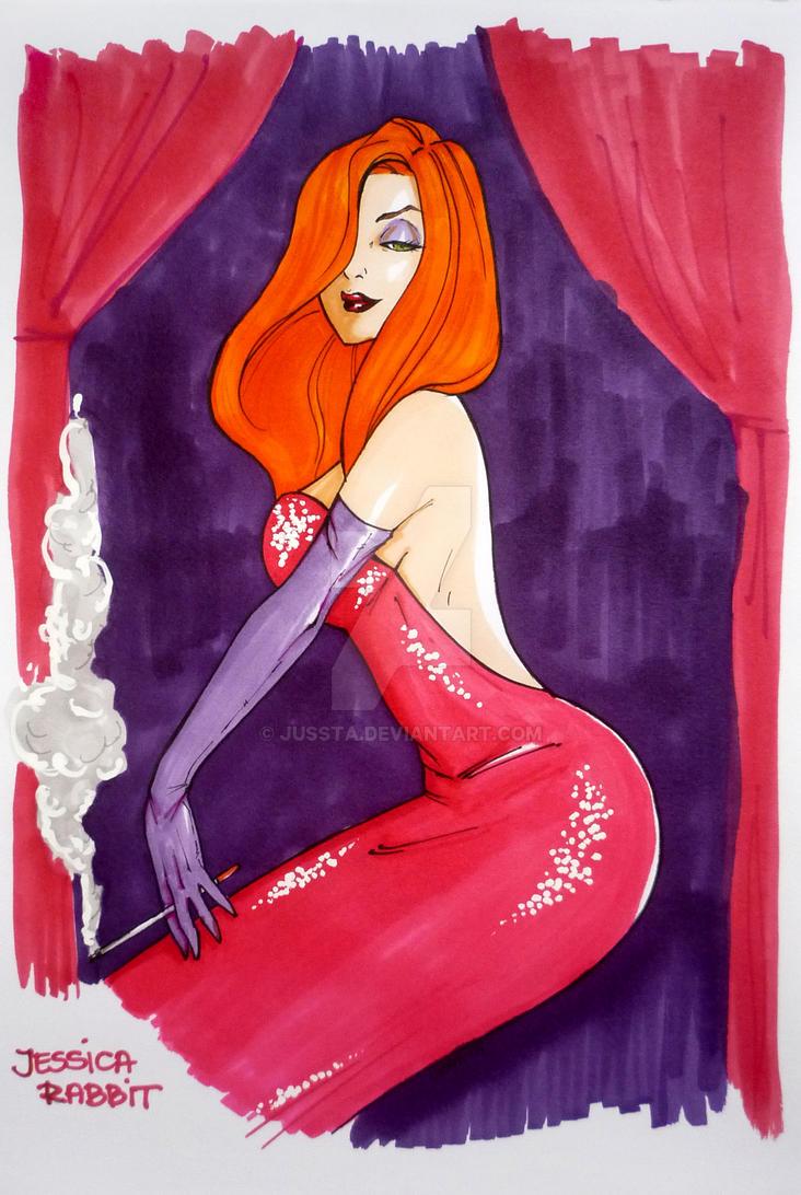 Jessica Rabbit by jussta
