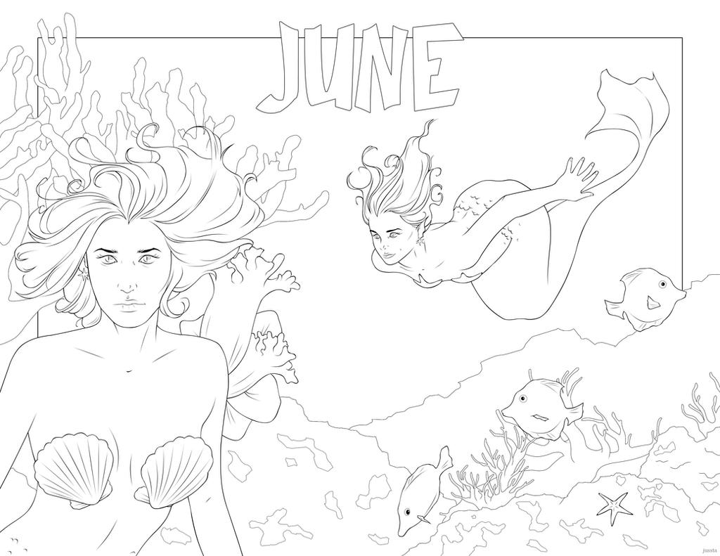 June by jussta