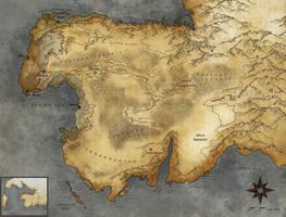 Map of Ferraria by branka42