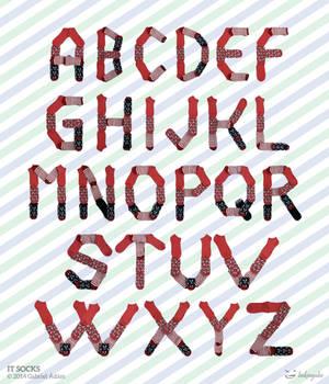 It Socks - Typo-landart / Font
