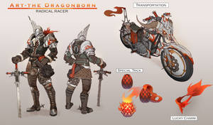 Art - The Dragonborn