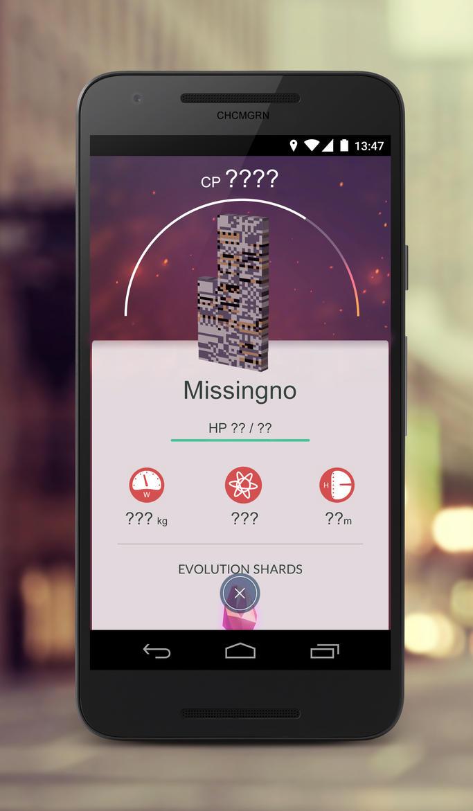 MissingNo #PokemonGo - by CHCMGRN by chcmgrn
