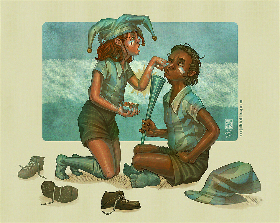 Celeste y blanca by RealNoir13