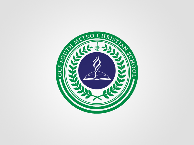 GCF SM Christian School Logo by artjective
