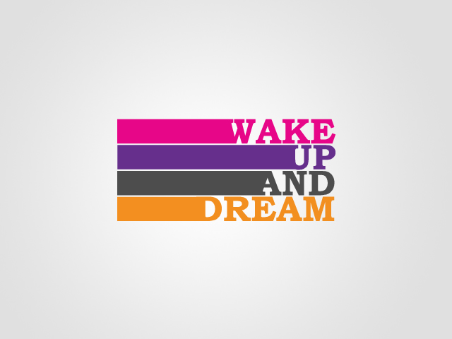 Wake Up and Dream Logo by artjective on DeviantArt