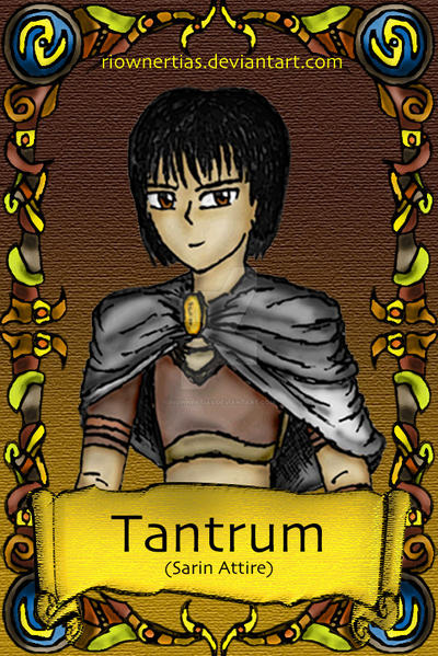 Character Card Front: Tantrum 2 by RiownerTias