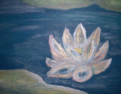 Painting - Lotus by RiownerTias