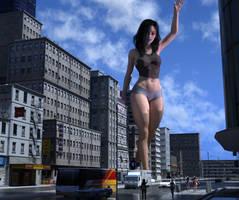 Stroll Through The City by giantesslover45